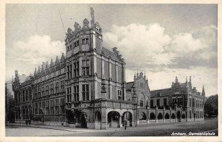 Ansichtkaart Arnhem Gemeentehuis 1938 HC10136