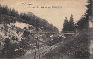 Ansichtkaart Valkenburg (LB) Stoomtrein Weg naar de luis op de Schaesberg 1925 Spoorwegen Treinen HC10149