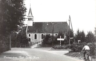 Ansichtkaart Oudemirdum Ned. Hervormde Kerk 1969 HC10152