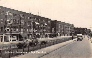 Ansichtkaart Schiedam Rotterdamsche Dijk Beneden Auto HC10161