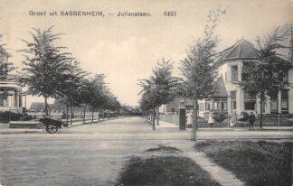 Ansichtkaart Sassenheim Julianalaan HC10302