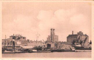 Ansichtkaart Velsen Papierfabriek Binnenvaart schepen Scheepvaart HC10317