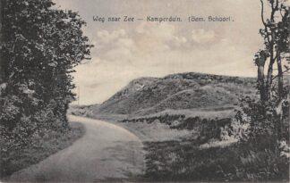 Ansichtkaart Kamperduin Gem. Schoorl Weg naar Kamperduin 1936 HC10319