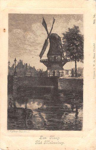 Ansichtkaart Den Haag Het Molensloep Molen HC10355