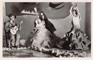 Ansichtkaart Voorburg Internationale Poppententoonstelling Stichting 1940-1945 Spaansche Dansgroep 1949 HC10367