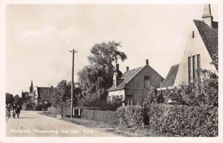 Ansichtkaart Melissant Nieuweweg met Gereformeerde Kerk HC10368
