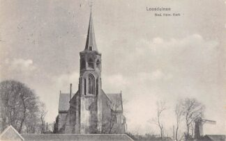 Ansichtkaart Loosduinen Ned. Hervormde Kerk HC10369