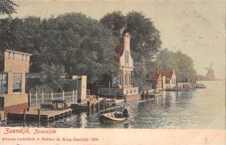 Ansichtkaart Zaandijk Zaanzijde Molen 1902 HC10382