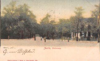 Ansichtkaart Zwolle Stationsweg 1904 HC10388