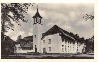 Ansichtkaart Hilversum Klooster Stad Gods v/h Monnikenberg 1957 HC10389