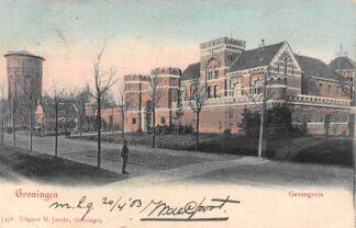 Ansichtkaart Groningen Gevangenis met Watertoren 1903 HC10423