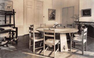 Ansichtkaart Bergen (NH) Volkshoge school 't Oude Hof De ronde tafel 1952 HC10442