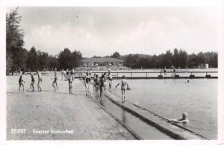 Ansichtkaart Soest Soester Natuurbad Zwembad 1952 HC10457