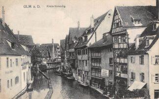 Ansichtkaart Duitsland Ulm a. D. Klein-Venedig Deutschland Europa HC9903