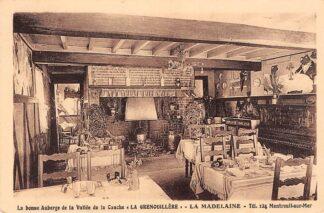 Ansichtkaart Frankrijk Montreuil sur Mer La bonnen Auberge de la Vallee de la Canche La Grenouillere La Madeleine France Europa HC9913