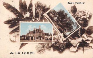Ansichtkaart Frankrijk La Loupe Souvenir France Europa HC9921