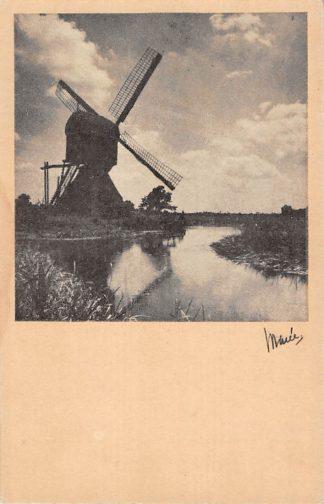 Ansichtkaart Bonrepas Schoonhoven Vlist Molen HC9928