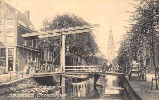 Ansichtkaart Amsterdam Groeneburgwal 1908 HC9949