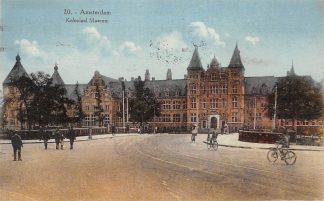 Ansichtkaart Amsterdam Koloniaal Museum 1928 HC9950