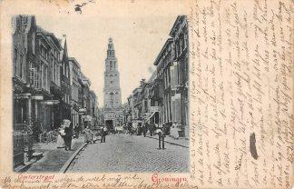 Ansichtkaart Groningen 1901 Oosterstraat HC10674