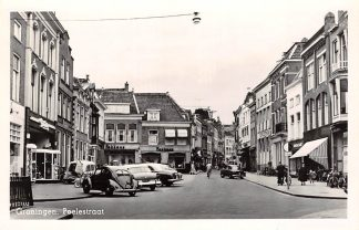 Ansichtkaart Groningen Poelestraat 1957 Auto VW HC10681