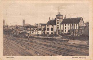 Ansichtkaart Amersfoort Phoenix Brouwerij 1920 Spoorwegemplacement Spoorwegen Treinen HC10682