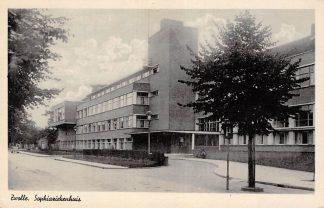Ansichtkaart Zwolle Sophia ziekenhuis 1943 HC10703