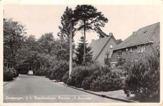 Ansichtkaart Driebergen J. v. Gaesbeeklaan Pension 't Zonnetje 1956 HC10706