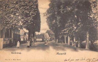 Ansichtkaart Maurik Kerkweg 1902 Buren (GD) Betuwe HC10779