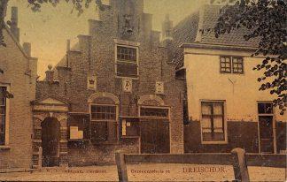 Ansichtkaart Dreischor Gemeentehuis 1906 Schouwen-Duiveland HC10809
