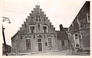 Ansichtkaart Zonnemaire Gemeentehuis 1952 Schouwen-Duiveland HC10811