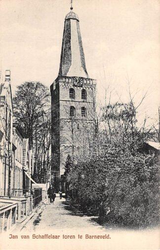 Ansichtkaart Barneveld Jan van Schaffelaar toren HC10835