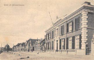 Ansichtkaart Brouwershaven 1917 Loodswezen HC10845