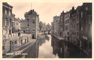 Ansichtkaart Utrecht Lichte Gaard Type fotokaart HC10860