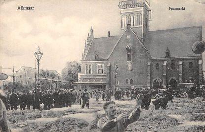Ansichtkaart Alkmaar Kaasmarkt Markt HC10864