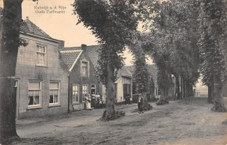 Ansichtkaart Katwijk aan den Rijn Oude Turfmarkt HC10879