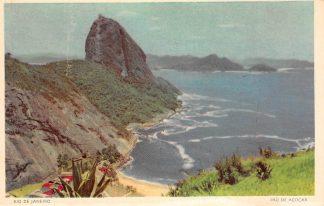 Ansichtkaart Brazilië Rio de Janeiro Pao de Acucar Brasil Zuid-Amerika HC10899