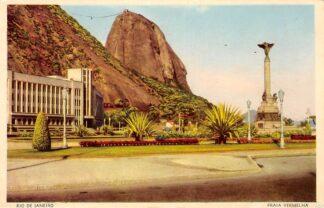 Ansichtkaart Brazilië Rio de Janeiro Praia Vermelha Brasil Zuid-Amerika HC10901
