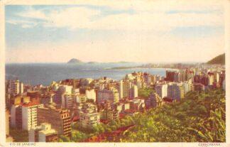 Ansichtkaart Brazilië Rio de Janeiro Copacabana Brasil Zuid-Amerika HC10902