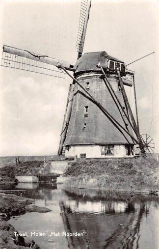 Ansichtkaart Texel Molen Het Noorden HC10911