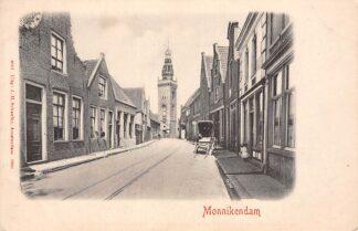 Ansichtkaart Monnickendam in 1900 HC11003