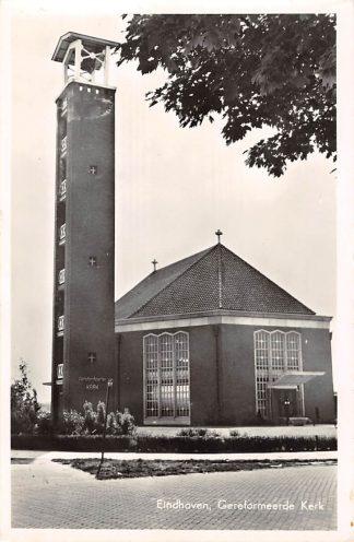 Ansichtkaart Eindhoven Gereformeerde Kerk 1957 HC11023