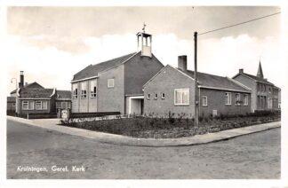 Ansichtkaart Kruiningen Gereformeerde Kerk 1960 HC11044