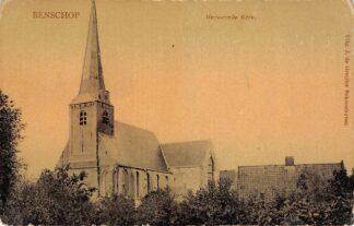 Ansichtkaart Benschop Hervormde Kerk De Gruijter Schoonhoven HC11080