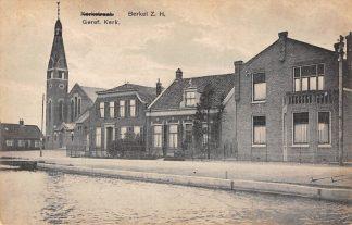Ansichtkaart Berkel (ZH) Gereformeerde Kerk 1934 HC11081
