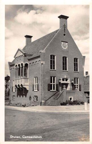 Ansichtkaart Drunen Gemeentehuis HC11089