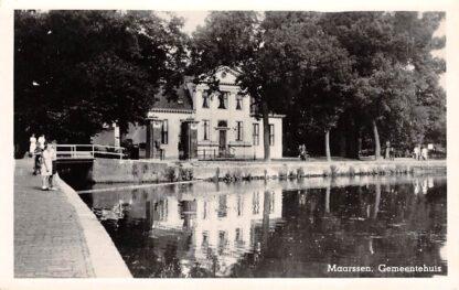 Ansichtkaart Maarssen Gemeentehuis 1956 HC11098