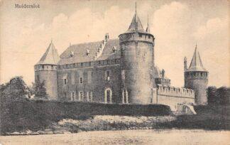 Ansichtkaart Muiden Kasteel Muiderslot 1918 HC11126