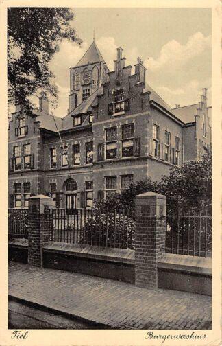 Ansichtkaart Tiel Burger weeshuis 1939 HC11129