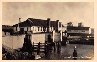 Ansichtkaart Den Oever Gemaal Leemans IJsselmeer 1947 HC11157